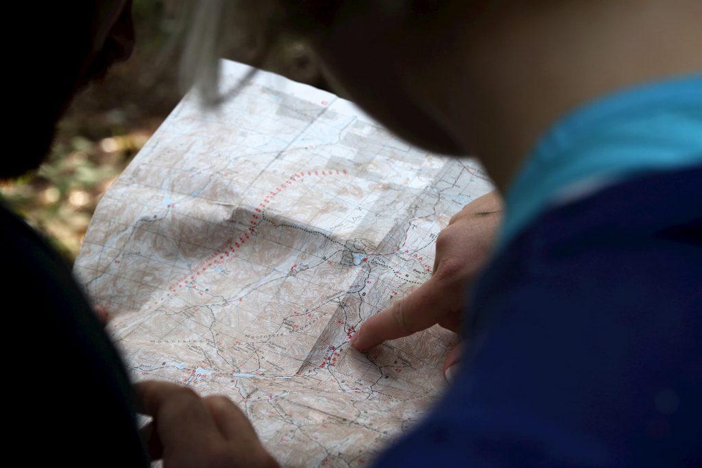 הסתכלות על מפה